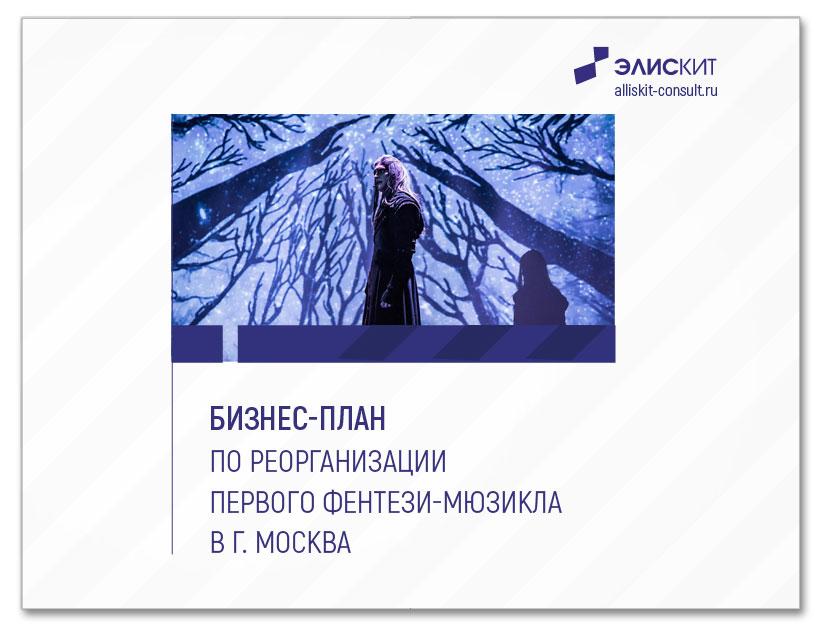 Бизнес-план реорганизации первого фентези-мюзикла в г. Москве